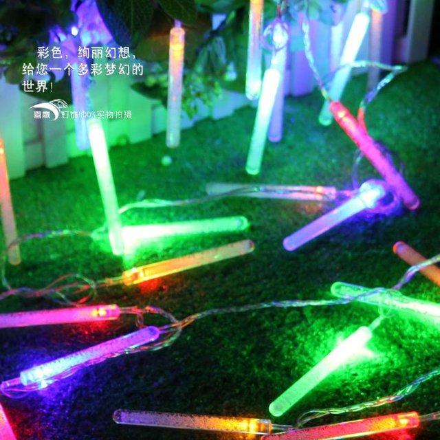 2 Mt 20 LED Blase Bar Picks Kegel Lampen luces navidad Garten - lampen ausen led 2