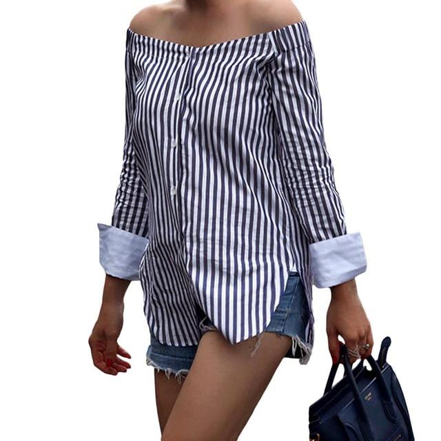 zwart wit gestreepte blouse