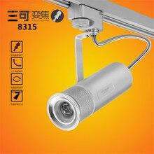 Запатентованный продукт 15 Вт зум led Освещение Следа удара света Charp Чип Студия Музей Искусства Прожектор Сделано в Китае
