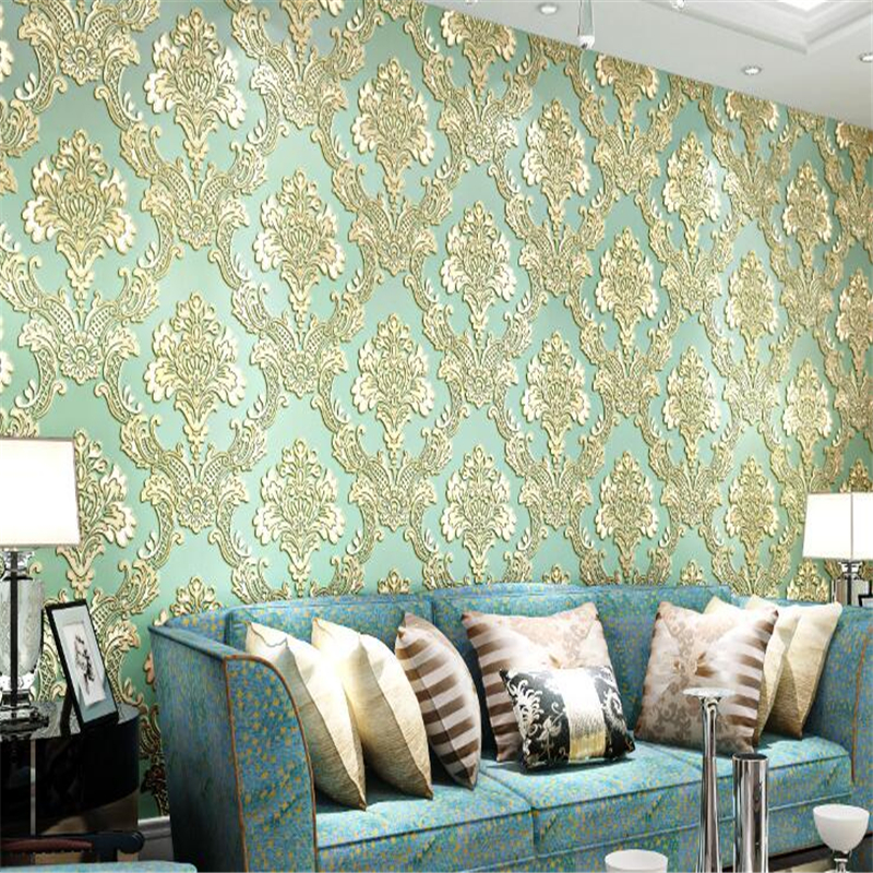 beibehang non woven wallpaper classic European - style 3D relief living room bedroom study wall wallpaper paper papel de parede beibehang mediterranean blue striped 3d wallpaper non woven bedroom pink living room background wall papel de parede wall paper