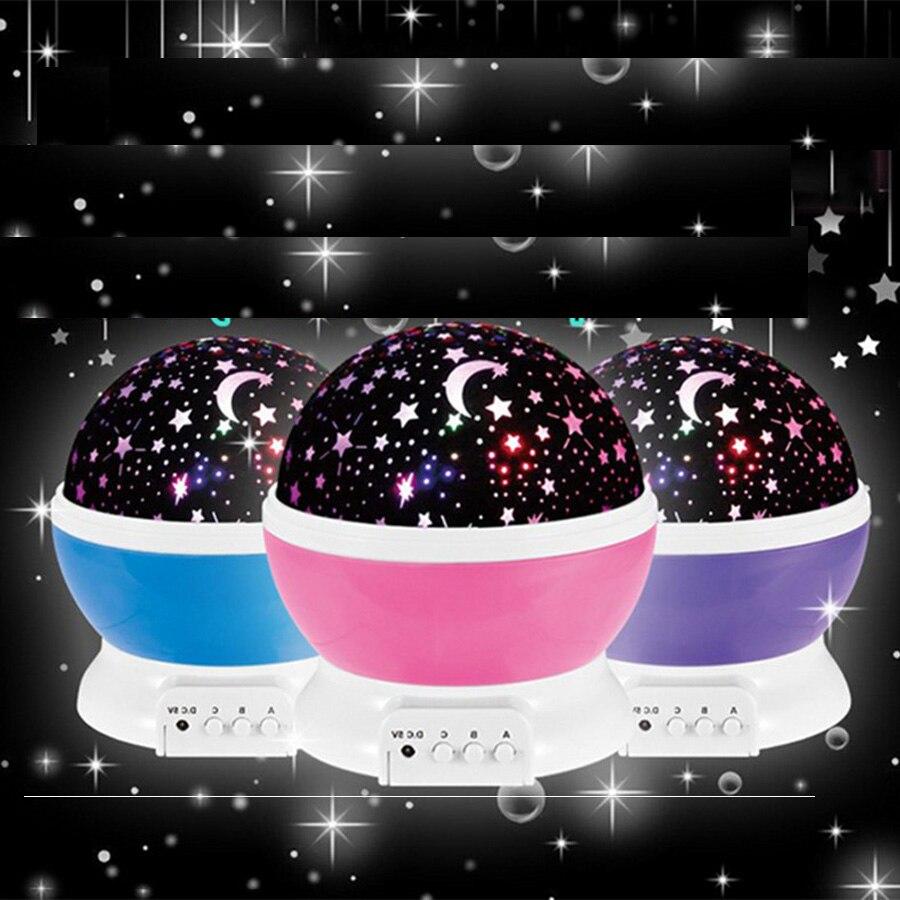 Star master projector lamp - Christmas Romantic Rotating Night Light Projector Lamp Lighting Sky Star Master Usb Lamp Led Projection For