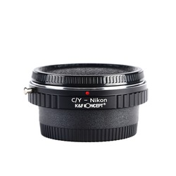 K&F CONCEPT for C/Y- NIKON Camera Lens Mount Adapter Ring for Contax or Yashica Lens to for Nikon AI Camera Body free shipping