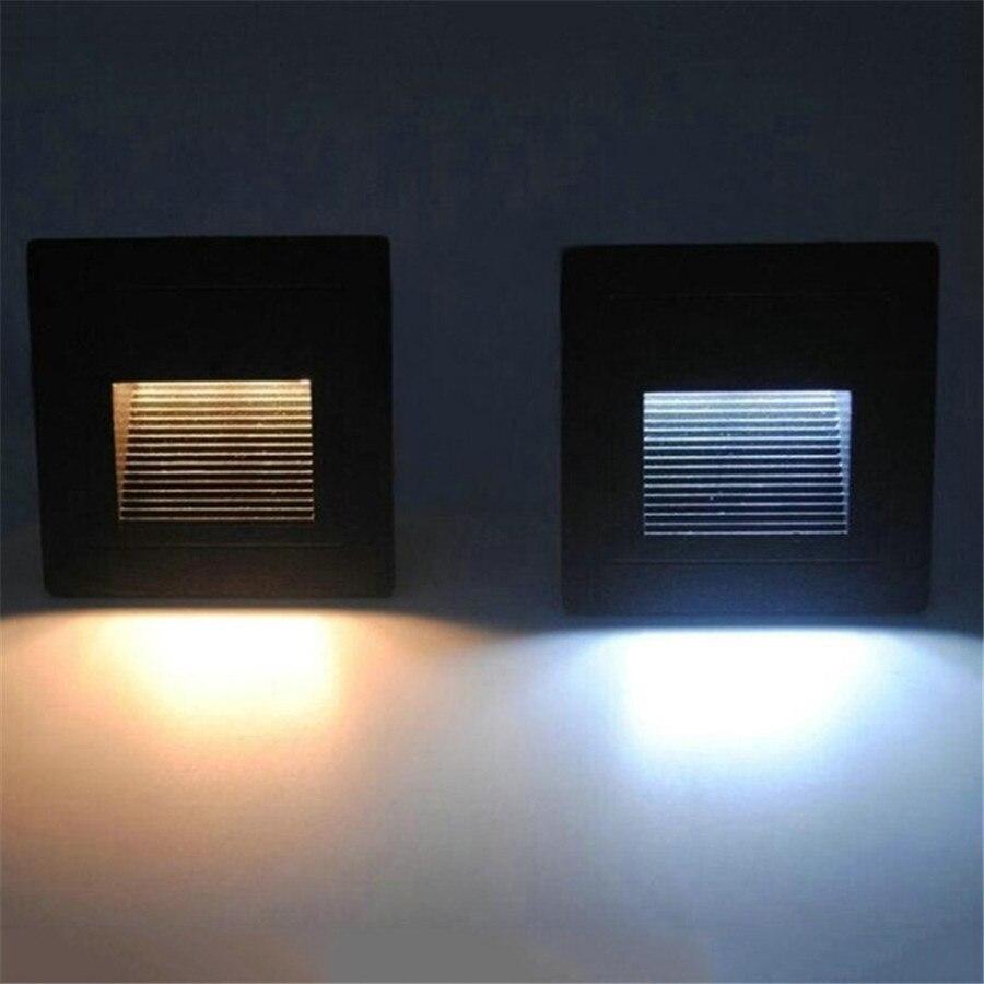 Lâmpadas de Parede ao ar Livre livre passo stair luz ip65 Base : Cunha