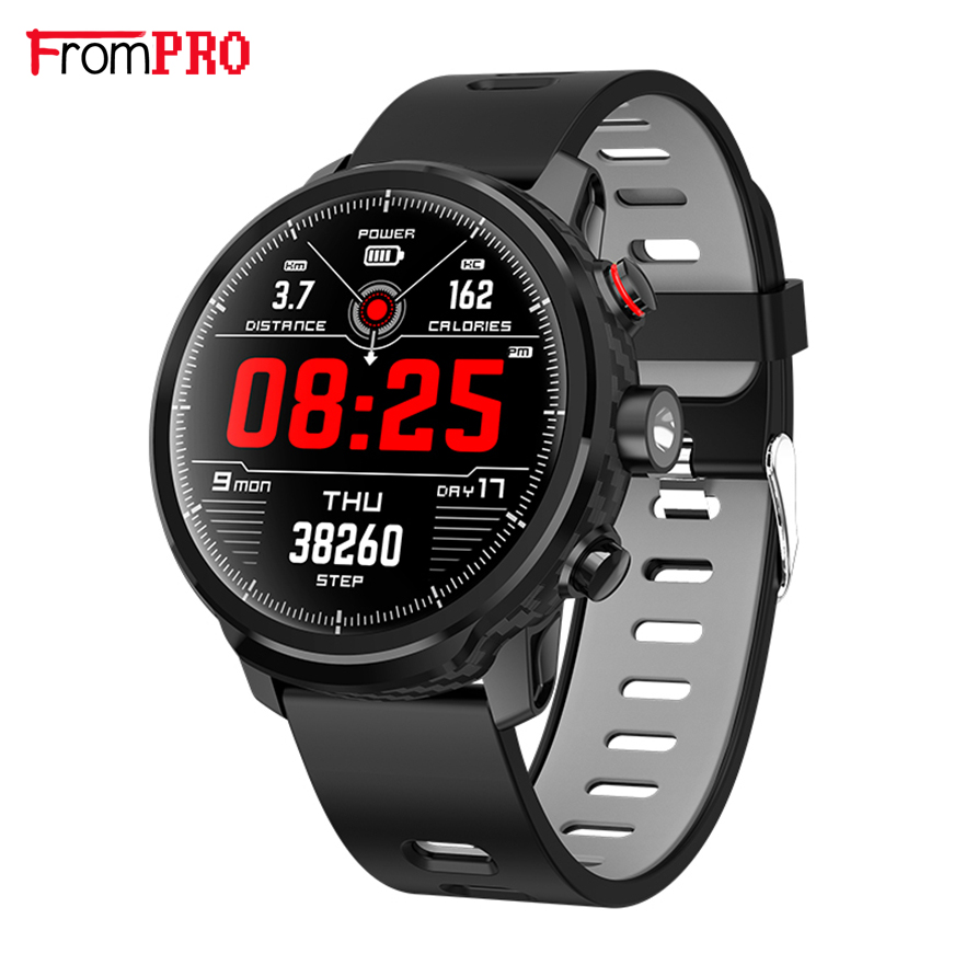 2019 L5 Smart Watch Men IP68 Waterproof Multiple Sports Mode Heart Rate Weather Forecast Bluetooth Smartwatch Standby 100 Days