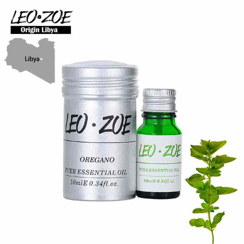 Oregano Essential Oil Famous Brand LEOZOE Certificate Of Origin Libya Aromatherapy Authentication High Quality Oregano Oil 10Ml