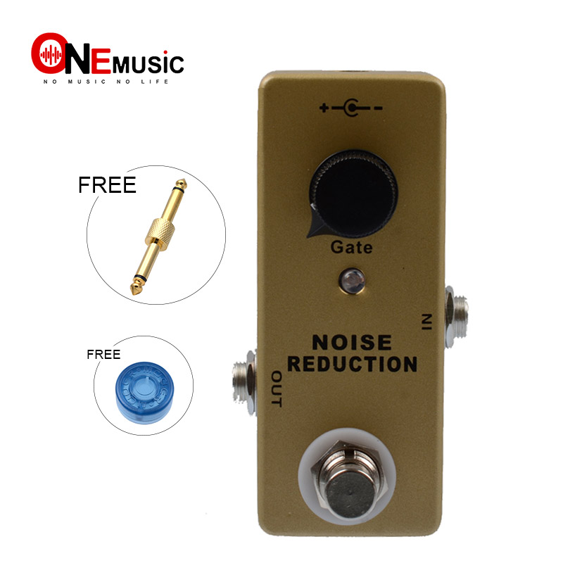 buy mosky mini effect pedal black noise reduction effect pedal with free gold. Black Bedroom Furniture Sets. Home Design Ideas