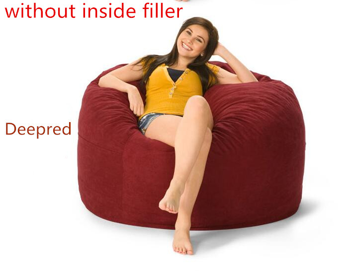 Large Bean Bags Chair For Adult Lazy Bag COVER Only Supplied Without Filler In Living Room Sofas From Furniture On Aliexpress