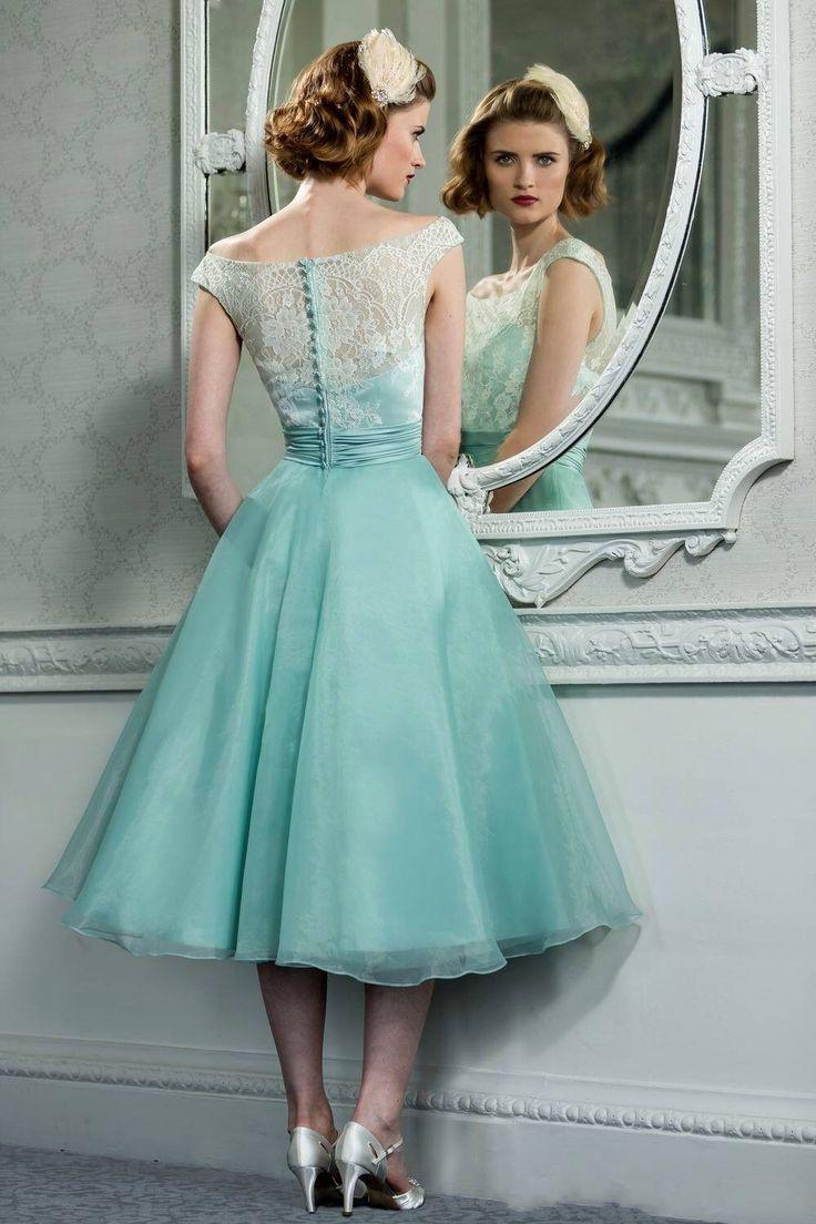 Ausgezeichnet Cocktailkleid Teelänge Zeitgenössisch - Hochzeit Kleid ...