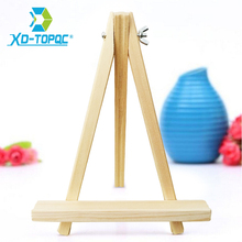 Pine Wood Drawing Artist Easel 24x18cm Smooth Table top Photo Advertisement Exhibition Painting Folder Small Wooden Easels WE03