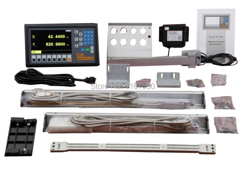 Nouveau LCD Easson ES 12C 3 axes DRO kits lecture