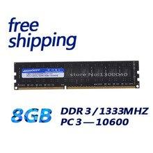 KEMBONA masaüstü PC DDR3 8 GB 1333 Mhz PC3-10600 bellek RAM bilgisayar bileşenleri ücretsiz kargo