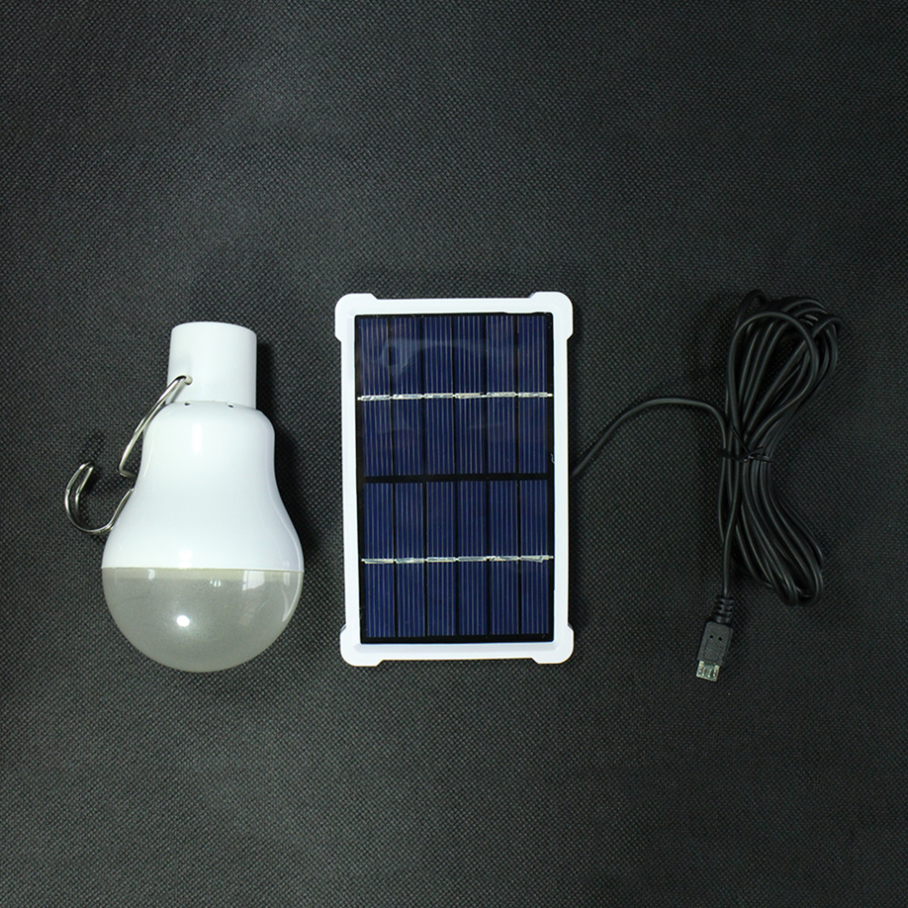 outdoor indoor solar powered led lighting system light lamp led bulb solar panel low power camp. Black Bedroom Furniture Sets. Home Design Ideas