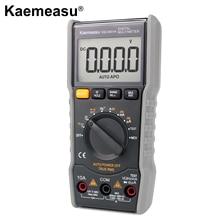 kaemeasu Mini Digital Multimeter DC/AC Capacitance Resistance NCV True RMS with Zero Line/FireWire Measurement(TEST) KM-DM01A