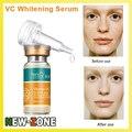 Cuidado de la cara Blanqueamiento Potente VC Suero Esencia Eliminar las manchas de pigmentación y Purificación de la Piel melanina facial Brillante 10 ML * 3
