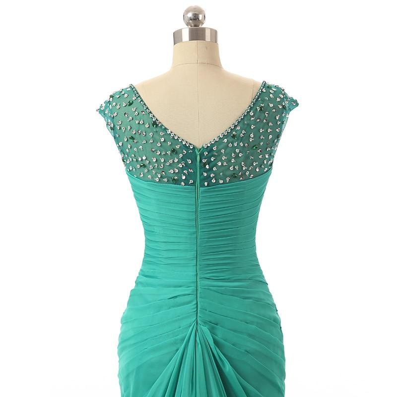 Solovedress Elegant Арзан Green Mermaid ұзын кешкі - Ерекше жағдай киімдері - фото 6