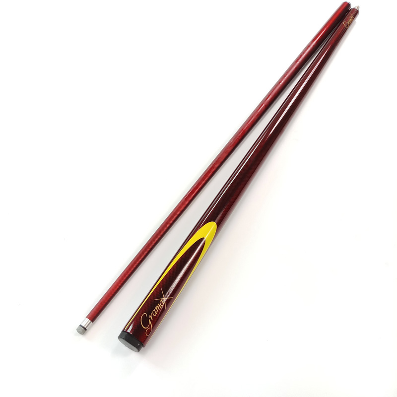 free shipping Wine red Carbon Pool cues 1 2 snooker cue stick damp proofing stainless joint