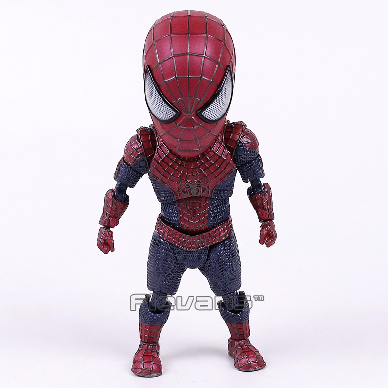 купить Egg Attack The Amazing Spider-man 2 Spiderman EAA-001 PVC Action Figure Collectible Model Toy онлайн