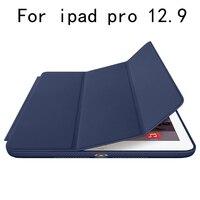 Originale caso astuto tablet caso della copertura del Cuoio DELL'UNITÀ di elaborazione di Protezione Per Apple i pad pro 12.9