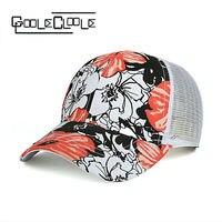Wholesale Baseball Women Cap Snapback Print Mesh Caps Bones Masculino Casquette Summer Gorras Mujer Unisex Hat