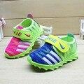 2016 Zapatos de Los Niños Nueva Primavera Y Autume 1-6 años Niñas Niños Zapatillas de Deporte Respirables Con Inferior Suave del Envío Libre