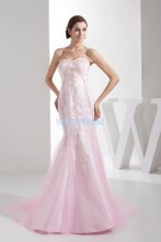 free shipping 2014 dresses new fashion 2013 sweetheart brand dress custom sizecolor bridal gown pink mermaid wedding dresses