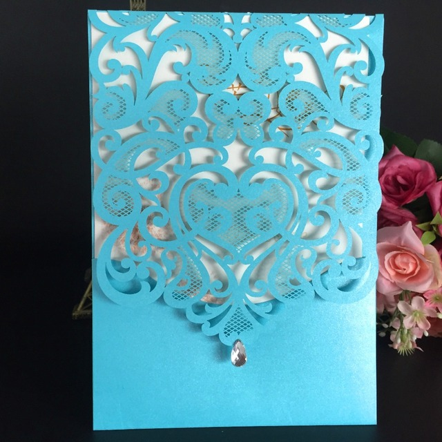50pcs delicate laser cut wedding invitations cards love heart 50pcs delicate laser cut wedding invitations cards love heart mariage wedding invitation engagement birthday greetings cards m4hsunfo