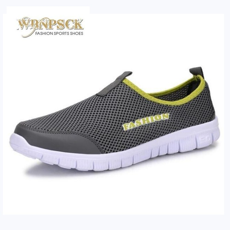 Men Casual Shoes 2017 New Summer Breathable Mesh Casual Shoes Size 34-44 Slip On Soft Men's Loafers Outdoors Walking Shoes fonirra men casual shoes 2017 new summer breathable mesh casual shoes size 34 46 slip on soft men s loafers outdoors shoes 131