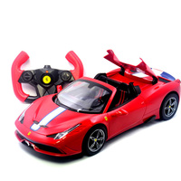 1:14 Remote Control Car for Ferra 458 Speciale A Roadster Luxury Convertible RC Car Model Adult Toy for Boy Kid Birthday Gift