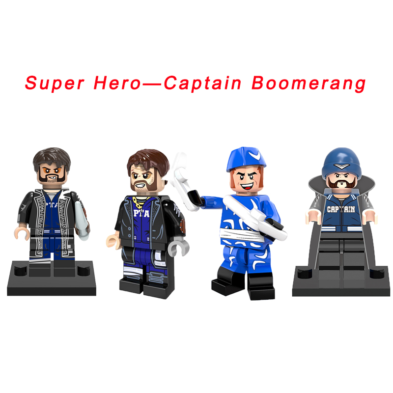 Captain Boomerang Dc Super Heroes The Flash Movie The Rogues Suicide Squad Star Wars Building Blocks Toys For Kids