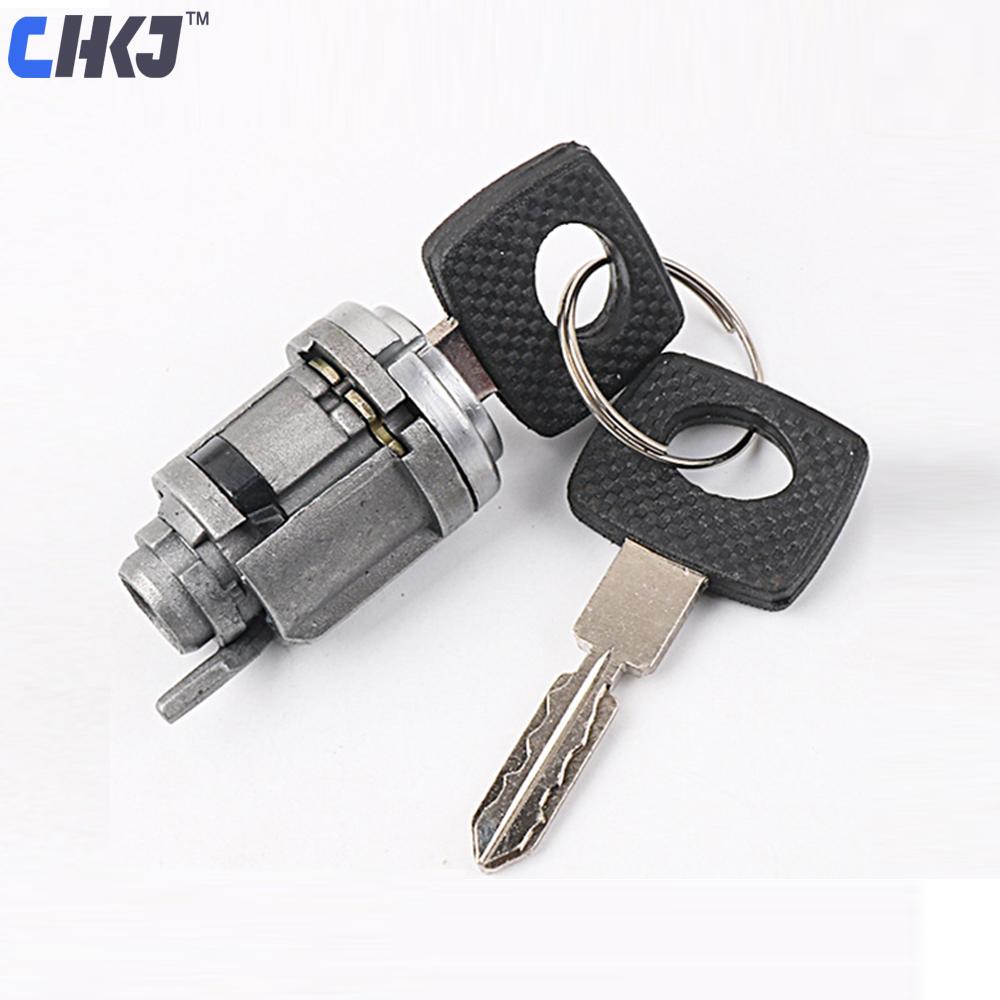 Car Ignition Switch /& Door Lock Barrel 2 Key Assembly for Mercedes Benz E-class