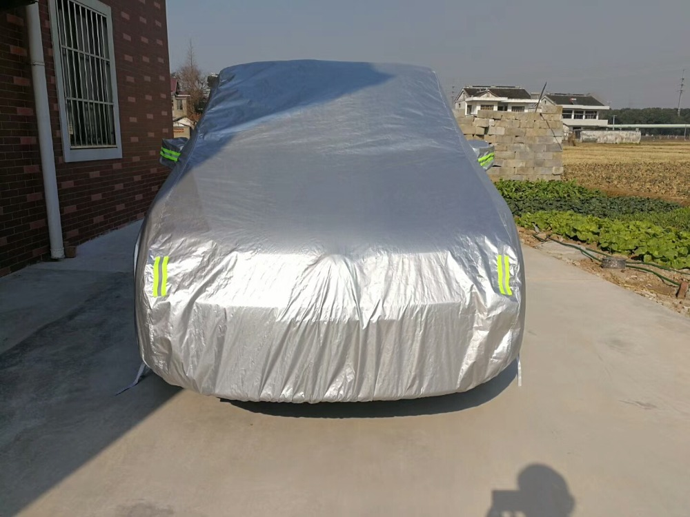 Universal SUV Car Cover Anti UV Sun Rain Snow Ice Frost Protector Dust Wind Resistance Auto Show Garage Surface