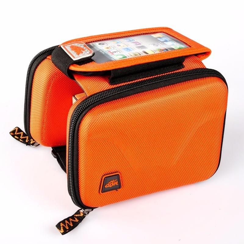 Q156 touch screen mobile phone sales of outdoor bike package EVA hard shell anti-impact beam bag saddle bag pack full anti-rain
