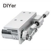 330DIY diseño actuador lineal 12V 24V ciclo alternativo Mini Motor de engranaje DC 12/24V 20mm actuador lineal de carrera para máquina sexual