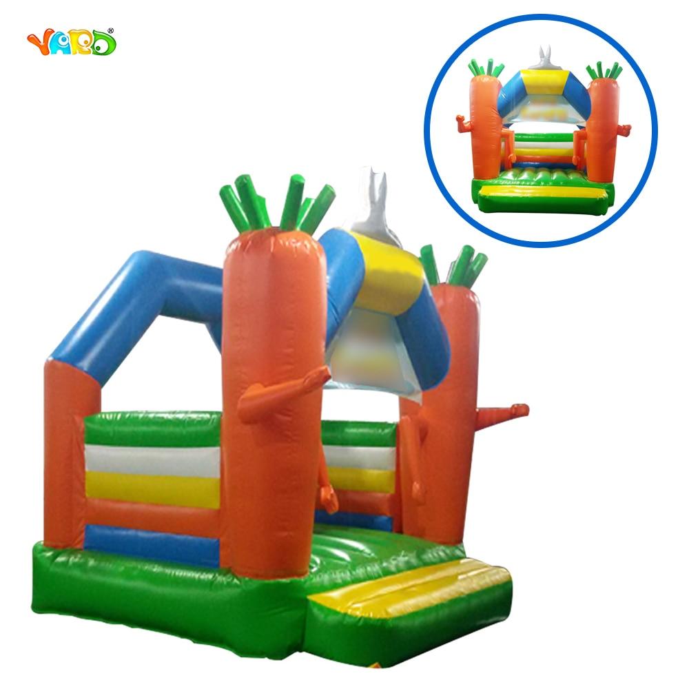 Хост Продажа Открытый дешевый маленький надувной батут замок игрушки для детей