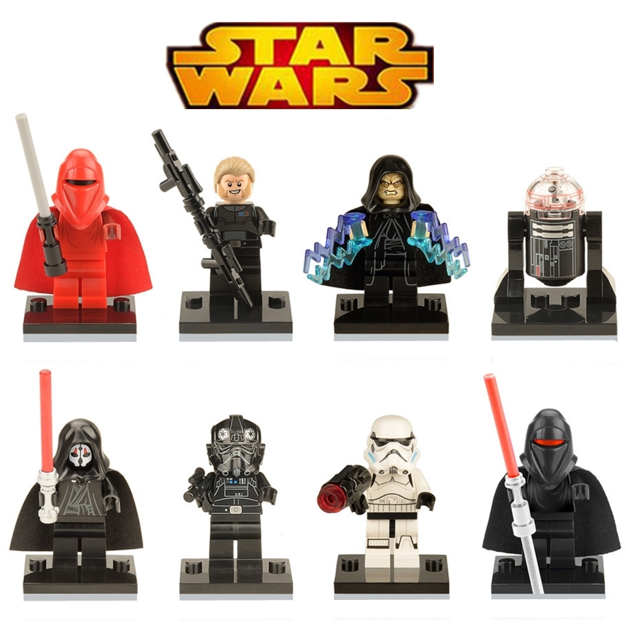 Diy Star Wars Kallus Robot Count Dooku Darth Vader Darth Maul Blocks figures Compatible With L Brand Toys For Children