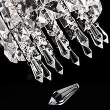 Прозрачный кристалл украшение с отверстием свет аксессуары кулон висит