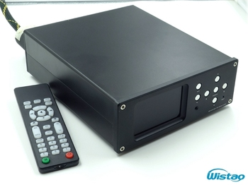 HIFI Digital Player Turntable Hardware Decoding ESS Main Chip AK4495 Supports WAV APE FLAC MP3 192K/24BIT Black