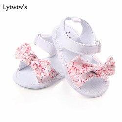 1 пара; детская обувь для маленьких мальчиков и девочек; нескользящая парусиновая обувь с бантом; Новорожденные малыши сандалии для детей