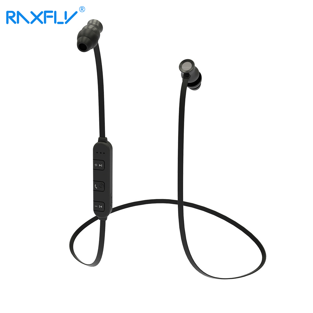 RAXFLY Bluetooth Earphone In-Ear With Microphone Wireless Earpiece Stereo Sport For iPhone IOS 7 Above Android 4.3 Above Phone