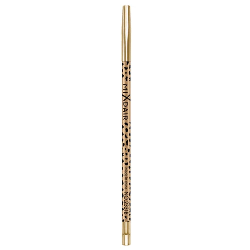 MIXDAIR eyebrow pencil 2in1 multifunction eye makeup tool waterproof long lasting Leopard Print eyebrow tattoo pen MD005 4