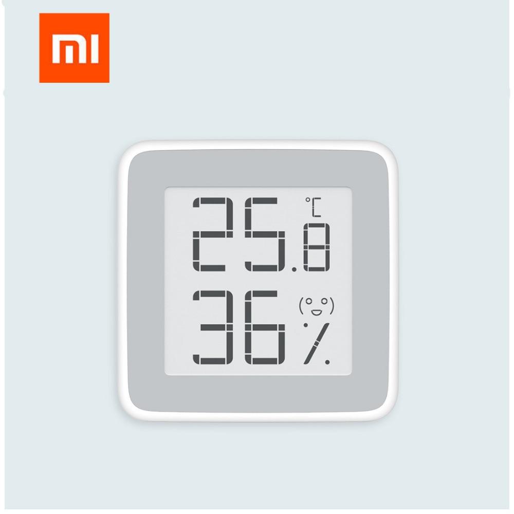 [HOT]Original Xiaomi Mijia Thermometer Temperature Humidity Sensor LCD  Screen Digital Moisture Meter For Xiaomi smart home kit