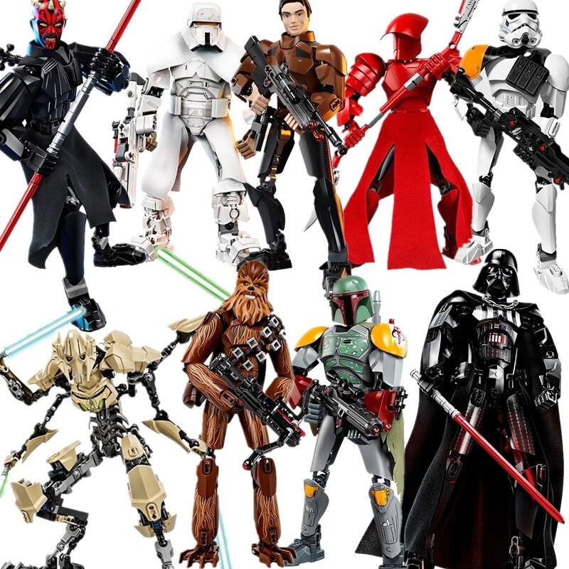 lis-blocos-de-construcao-font-b-starwars-b-font-darth-vader-storm-trooper-general-grievous-elite-guarda-pretoriana-figura-brinquedos-com-legoinglys