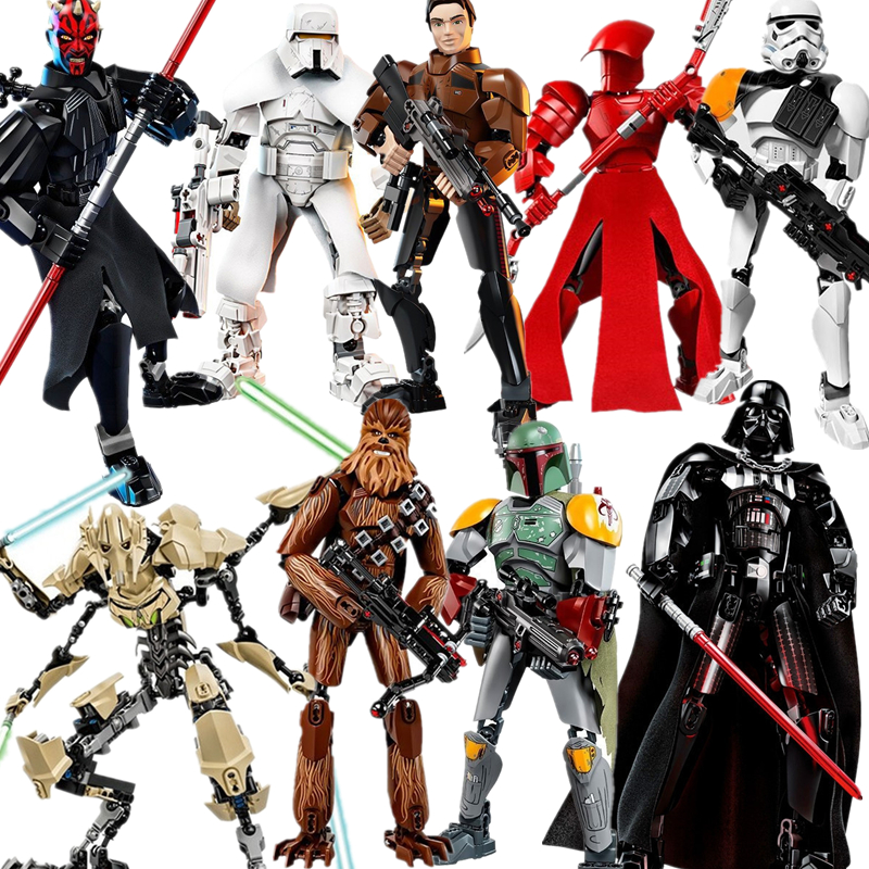lis-font-b-starwars-b-font-building-blocks-darth-vader-storm-trooper-general-grievous-elite-praetorian-guard-figure-toys-with-legoinglys