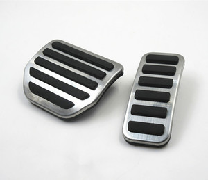 Image 2 - Car Accelerator Gas Foot rest Modified Pedal Pad for Land Range Rover Sport Discovery 3 4 LR3 LR4 Refit Decorate Accessory