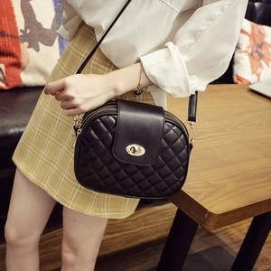 Image 3 - REPRCLA Hot Fashion Crossbody Bags for Women 2020 High Capacity 3 Layer Shoulder Bag Handbag PU Leather Women Messenger Bags