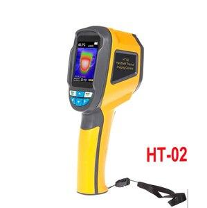 Image 2 - Xintest Handheld Thermische Camera Warmtebeeldcamera Ir Infrarood Thermometer Temperatuur Thermische Imaging Tool HT 02 HT 02D HT 18