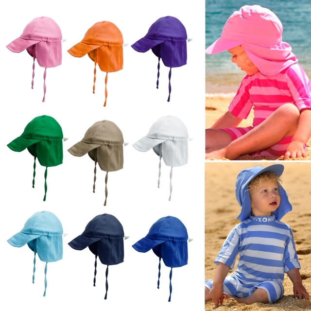 5728f639a US $3.84 31% OFF Summer Care Children Baby Girls Boys Summer Sun Hat  Outdoor Anti UV Swim Caps Beach Hats Lovley-in Hats & Caps from Mother &  Kids on ...