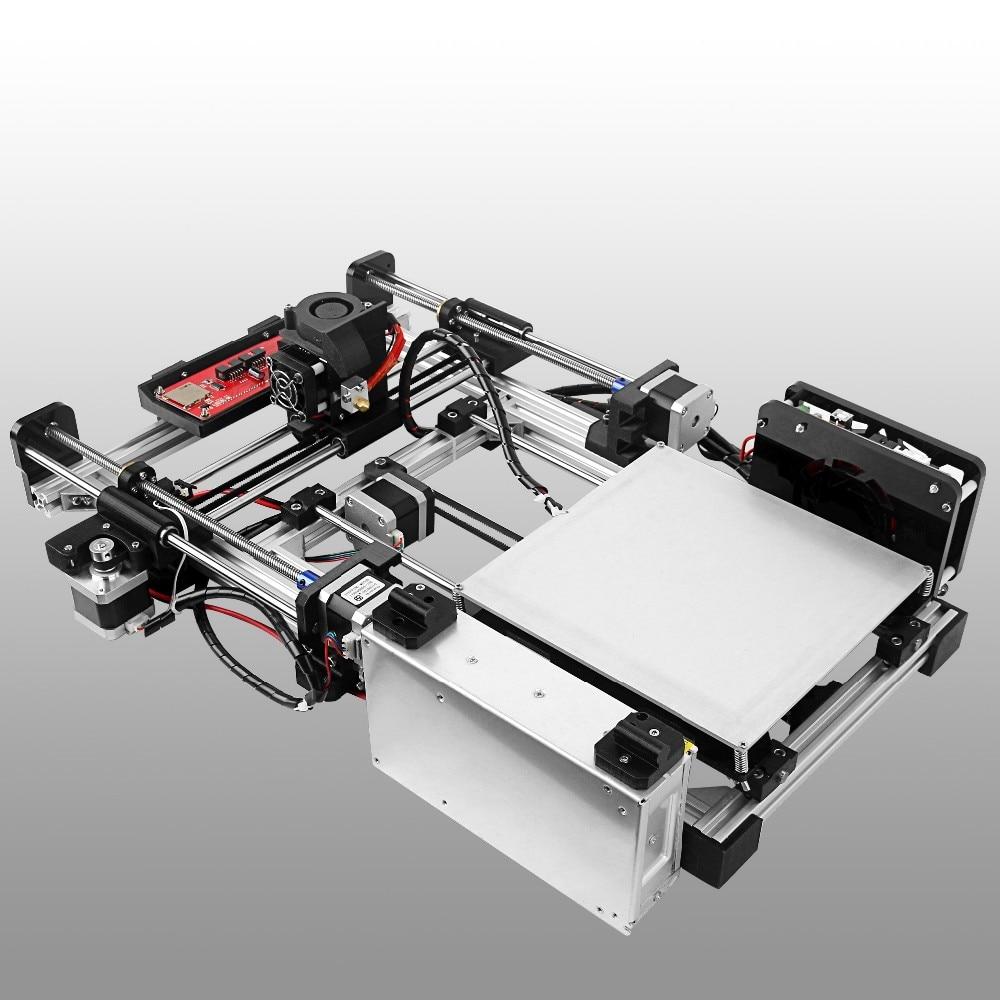 Newest Folding Type 3D Printer Impressora 3d Reprap Prusa