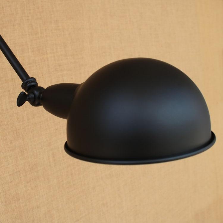 Schwarz Edison Retro Vintage Wandleuchte Für Zuhause Esszimmer - Innenbeleuchtung - Foto 6