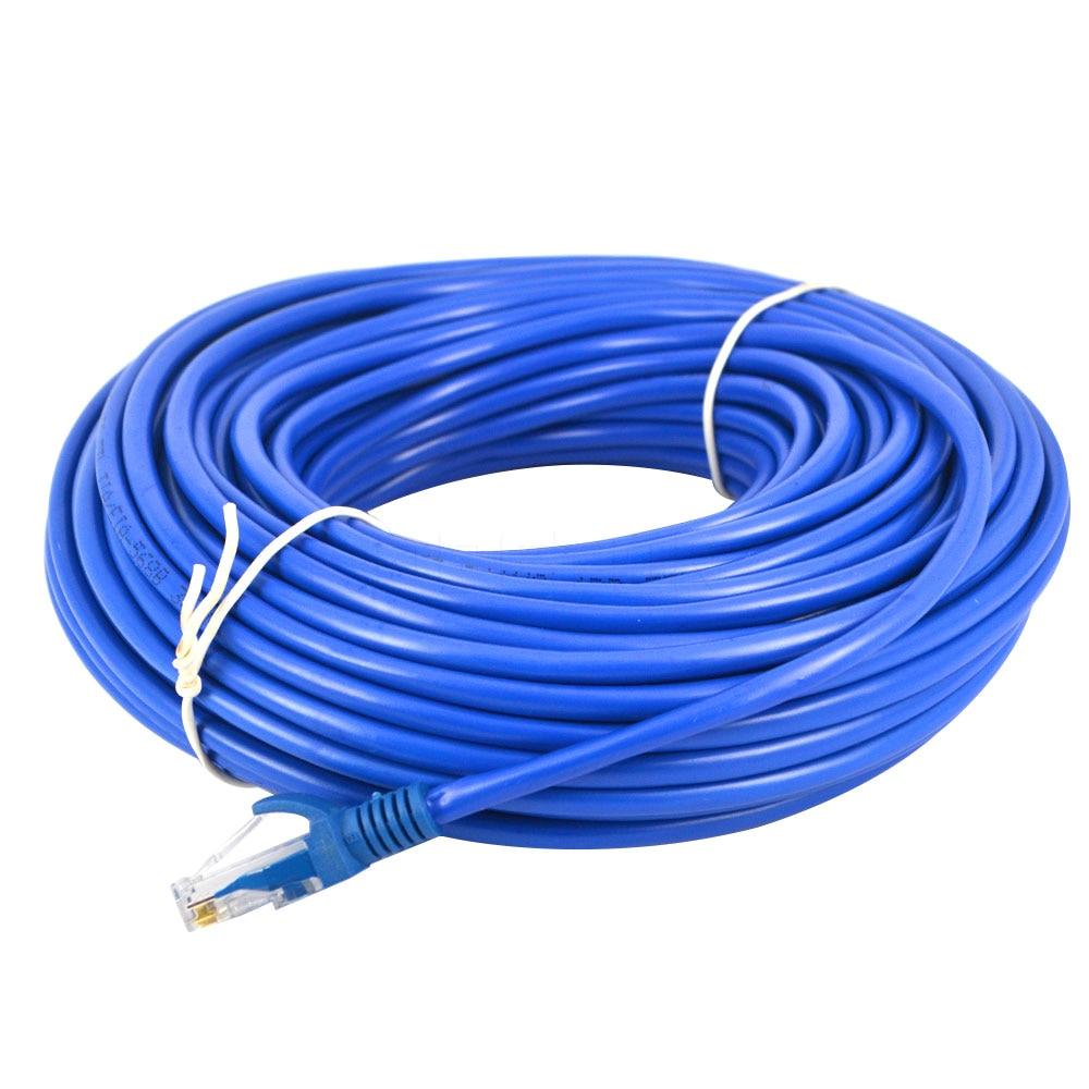 Blau 26 Mt 100ft Rj45 Cat5 Cat5e Ethernet Lan Netzwerk Net Arbeits Kabel Sync Linie Lan Kabel Für Computer Laptop Duftendes In Aroma